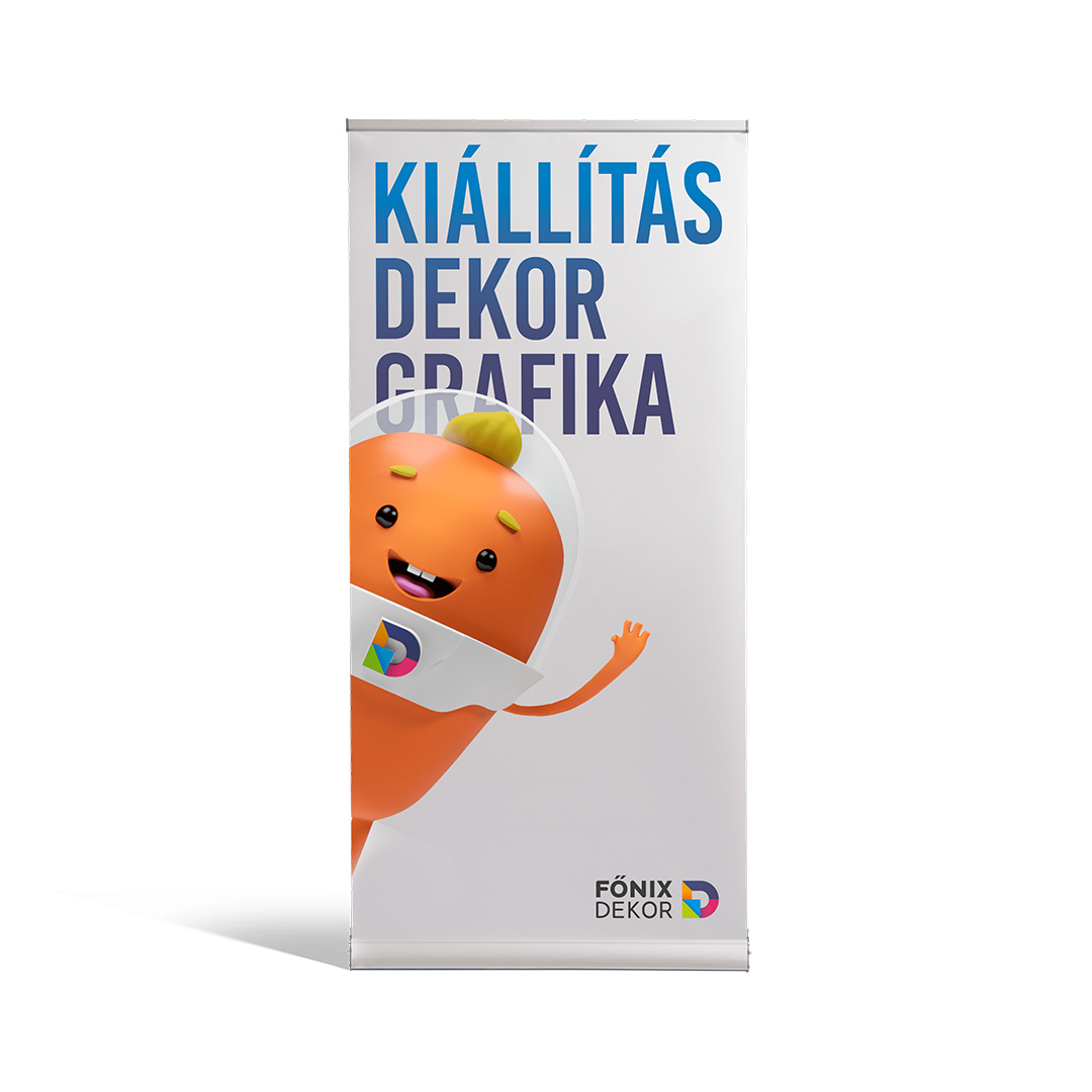 100 x 200 cm kétoldalas roll-up
